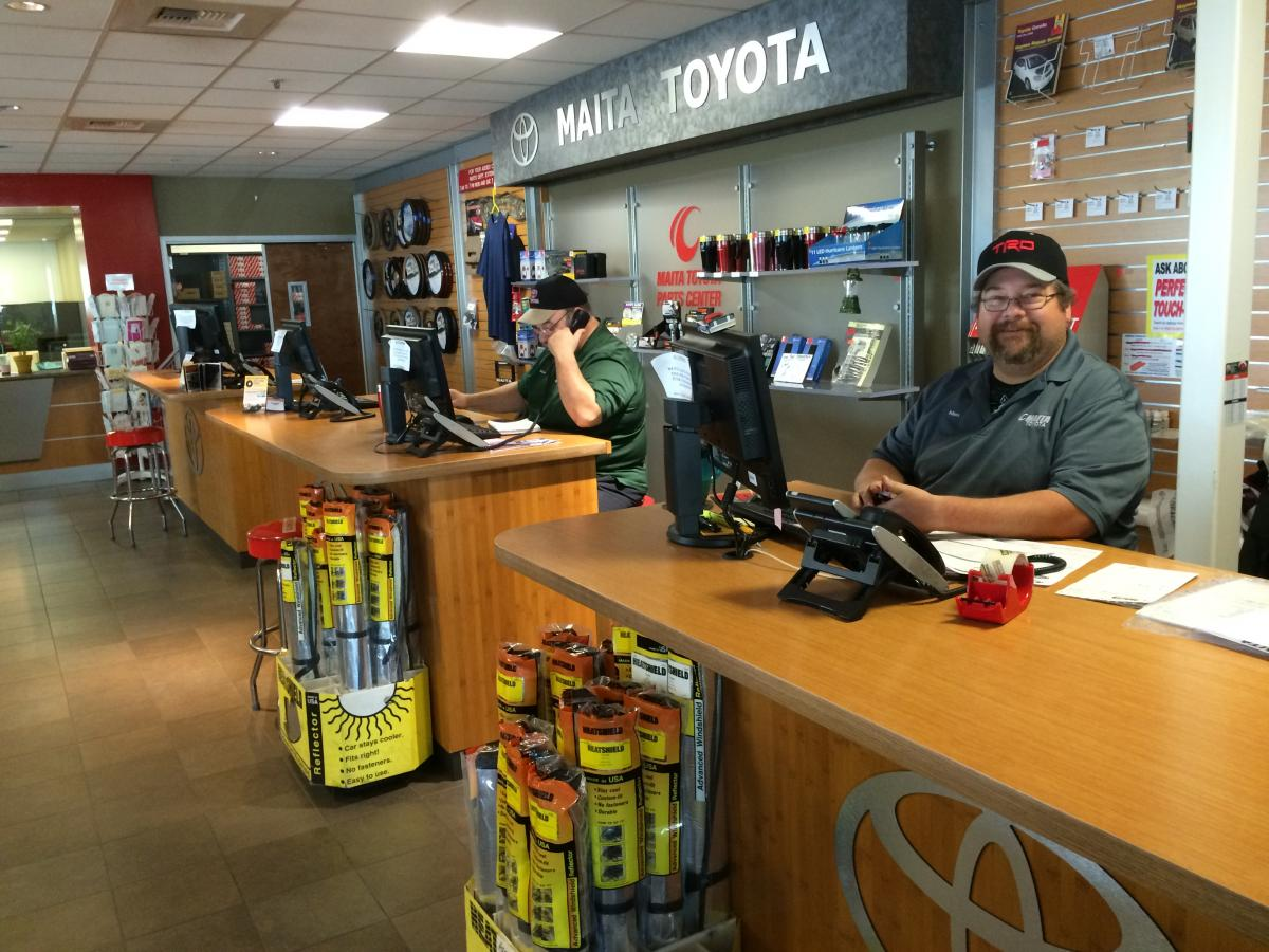 Maita Toyota Sacramento >> Parts Center Maita Toyota Car Dealer Near Sacramento