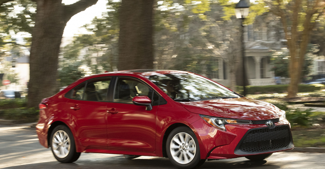 Premium Audio Package One Of Many Upgrades Available With 2020 Corolla