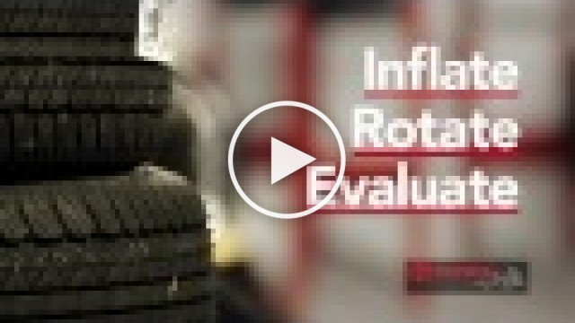 Inflate, rotate, evaluate - Toyota service video